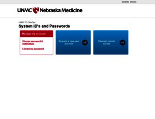 net.unmc.edu screenshot
