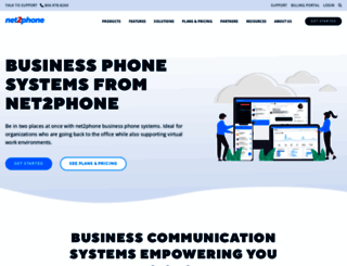 net2phone.com screenshot