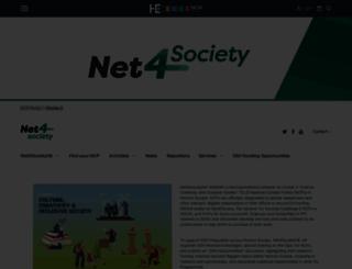net4society.eu screenshot