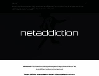 netaddiction.it screenshot