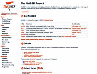 netbsd.org screenshot