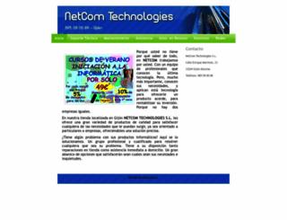 netcom.es screenshot