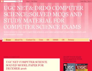 netcomputerscience.in screenshot