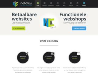netcrew.be screenshot