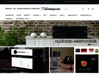 netdepo.hu screenshot