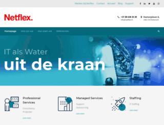 netflex.nl screenshot
