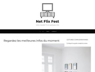 netflixfest.fr screenshot