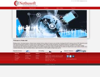 nethusoft.com screenshot