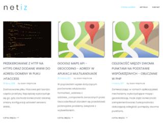 netiz.pl screenshot