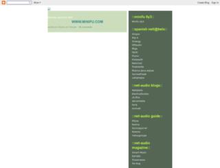 netlabelcharts.blogspot.nl screenshot