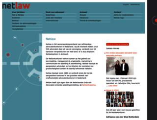 netlaw.nl screenshot