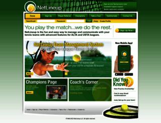 netlineup.com screenshot