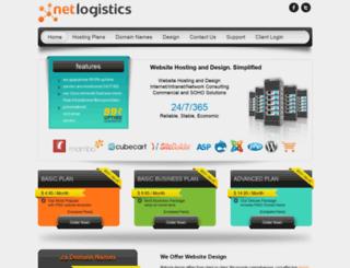 netlogistics.com screenshot