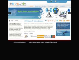 netone.net.in screenshot
