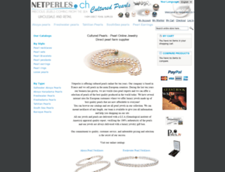 netperles.ch screenshot