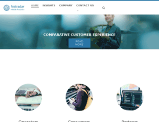 netradar.org screenshot