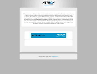 netron.com.tr screenshot