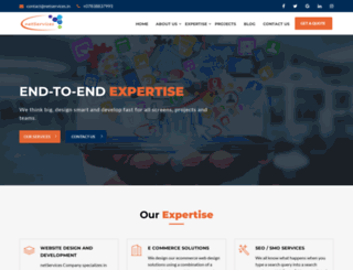 netservices.in screenshot