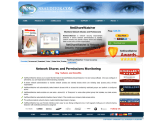 netsharewatcher.nsauditor.com screenshot
