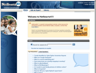 netsmartz411.org screenshot