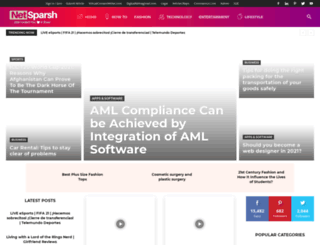 netsparsh.com screenshot