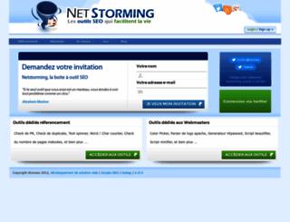 netstorming.fr screenshot