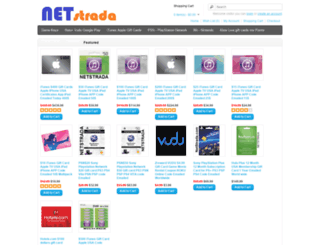 netstrada.com screenshot