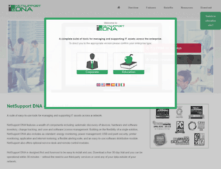 netsupportdna.com screenshot