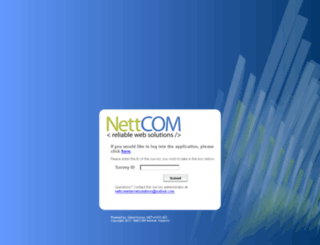 nettcomsurveys.co.za screenshot