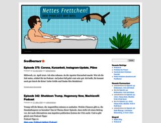 nettesfrettchen.podcaster.de screenshot