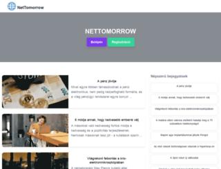nettomorrow.hu screenshot
