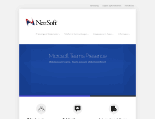 nettsoft.no screenshot
