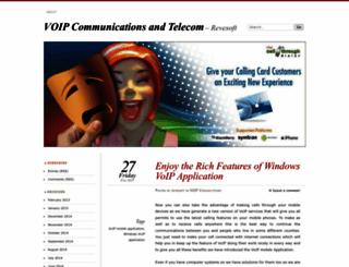 netvoipcom.wordpress.com screenshot