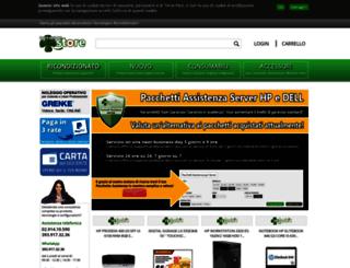 netwarestore.it screenshot