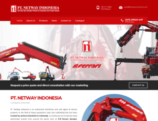 netwayindonesia.com screenshot