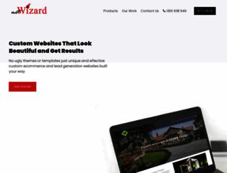 netwizarddesign.com.au screenshot