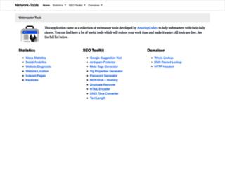 network-tools.org screenshot