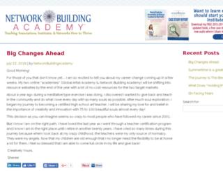 networkbuildingacademy.com screenshot