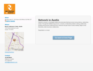 networkinaustin.com screenshot