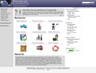 networking.missouristate.edu screenshot