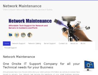 networkmaintenance.net.au screenshot