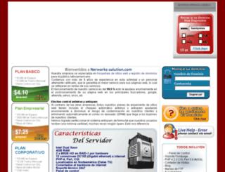 networks-solution.com screenshot