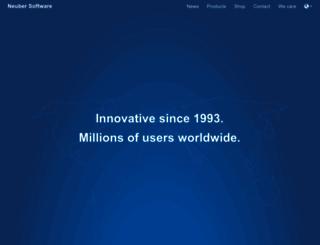 neuber.com screenshot