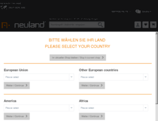 neuland.eu screenshot