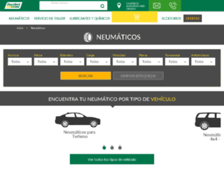 neumaticos-feuvert.es screenshot