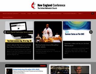 neumc.org screenshot