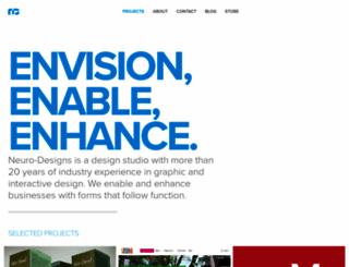 neuro-designs.com screenshot
