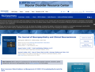 neuro.psychiatryonline.org screenshot
