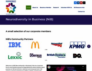 neurodiversity.com screenshot