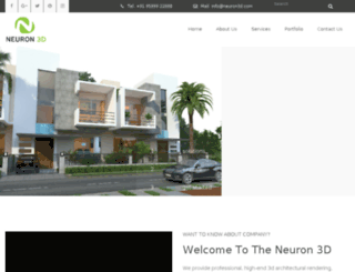neuron3d.com screenshot